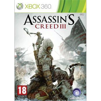 Assassin's Creed 3 CZ- XBOX 360- BAZÁR (použitý tovar)