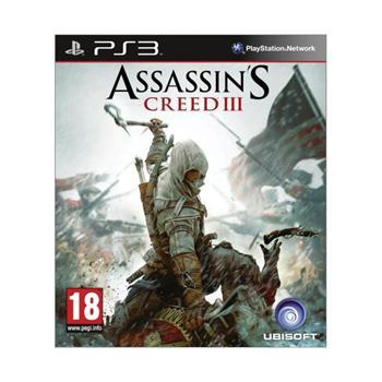 Assassin's Creed 3 -PS3 - BAZÁR (použitý tovar)