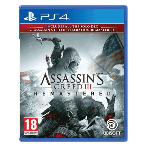 Assassin's Creed 3 (Remastered) [PS4] - BAZÁR (použitý tovar)