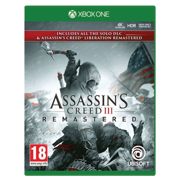 Assassin's Creed 3 (Remastered) XBOX ONE