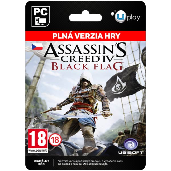 Assassin's Creed 4: Black Flag CZ [Uplay]