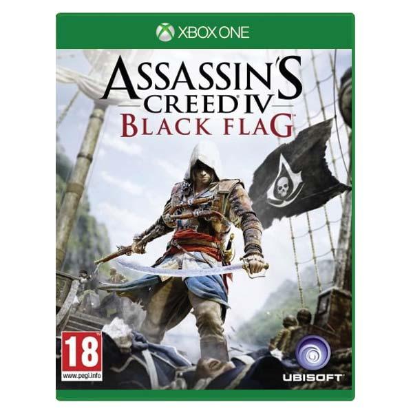 Assassin's Creed 4: Black Flag CZ [XBOX ONE] - BAZÁR (použitý tovar)