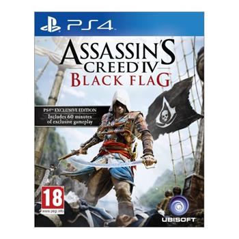 Assassin's Creed 4: Black Flag [PS4] - BAZÁR (použitý tovar)