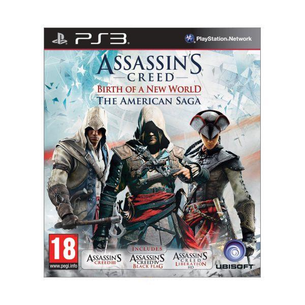 Assassin's Creed: Birth of a New World (The American Saga) PS3