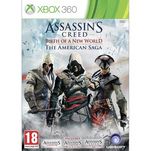 Assassin's Creed: Birth of a New World (The American Saga) [XBOX 360] - BAZÁR (použitý tovar)