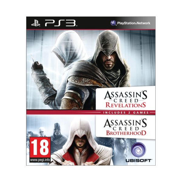 Assassin's Creed: Brotherhood + Assassin's Creed: Revelations PS3