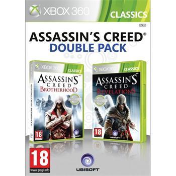 Assassin's Creed: Brotherhood + Assassin's Creed: Revelations [XBOX 360] - BAZÁR (použitý tovar)
