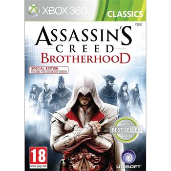 Assassin�s Creed: Brotherhood Nova vo folii - XBOX 360- BAZ�R (pou�it� tovar)