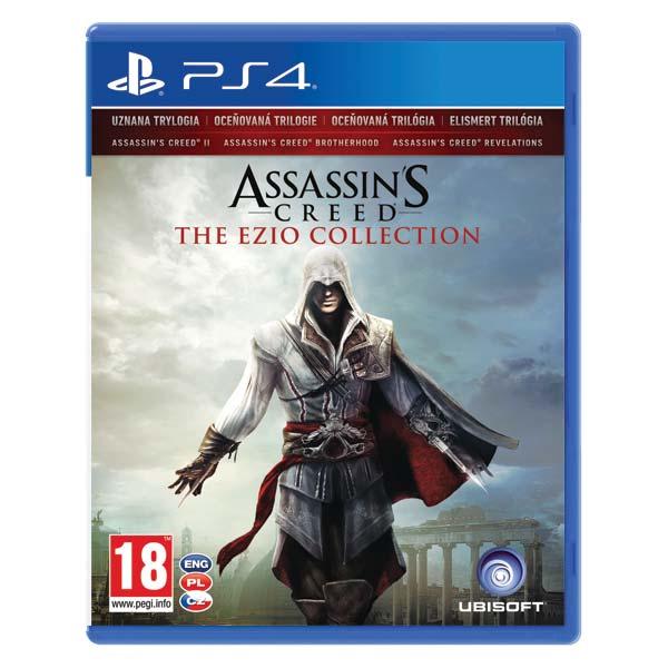 Assassin's Creed CZ (The Ezio Collection) [PS4] - BAZÁR (použitý tovar)