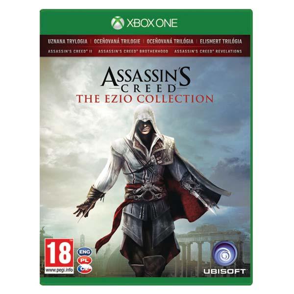Assassin's Creed CZ (The Ezio Collection) [XBOX ONE] - BAZÁR (použitý tovar)