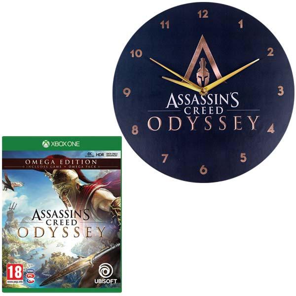 Assassin's Creed: Odyssey CZ (Omega Edition) + hodiny