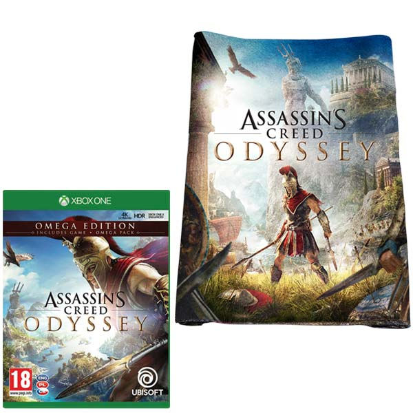 Assassin's Creed: Odyssey CZ (Omega Edition) + osuška