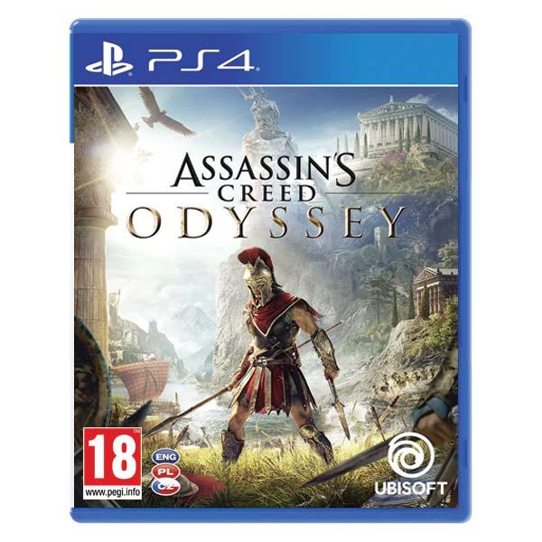 Assassin's Creed: Odyssey CZ [PS4] - BAZÁR (použitý tovar)