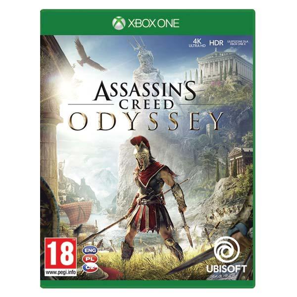 Assassin's Creed: Odyssey CZ [XBOX ONE] - BAZÁR (použitý tovar)
