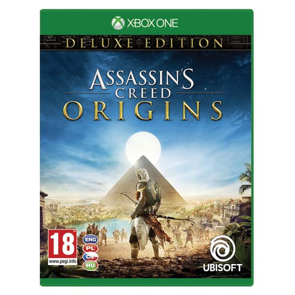 Assassin's Creed: Origins CZ (Deluxe Edition) XBOX ONE