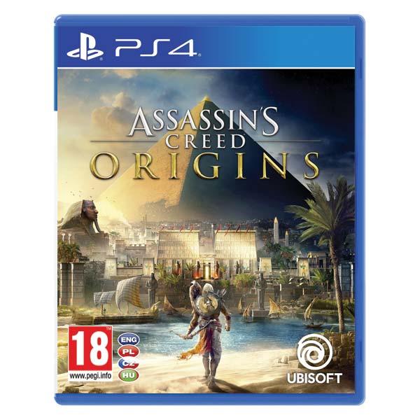 Assassin's Creed Origins CZ [PS4] - BAZÁR (použitý tovar)
