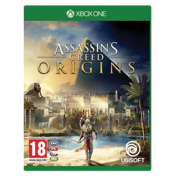 Assassin's Creed Origins CZ [XBOX ONE] - BAZÁR (použitý tovar)