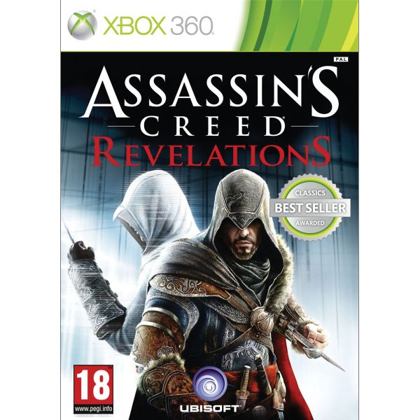 Assassin�s Creed: Revelations- XBOX 360- BAZ�R (pou�it� tovar)