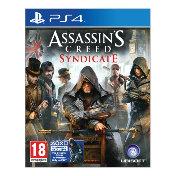 Assassin's Creed: Syndicate CZ [PS4] - BAZÁR (použitý tovar)
