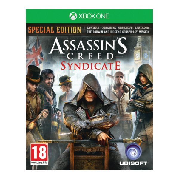 Assassin�s Creed: Syndicate CZ (Special Edition) [XBOX ONE] - BAZ�R (pou�it� tovar)