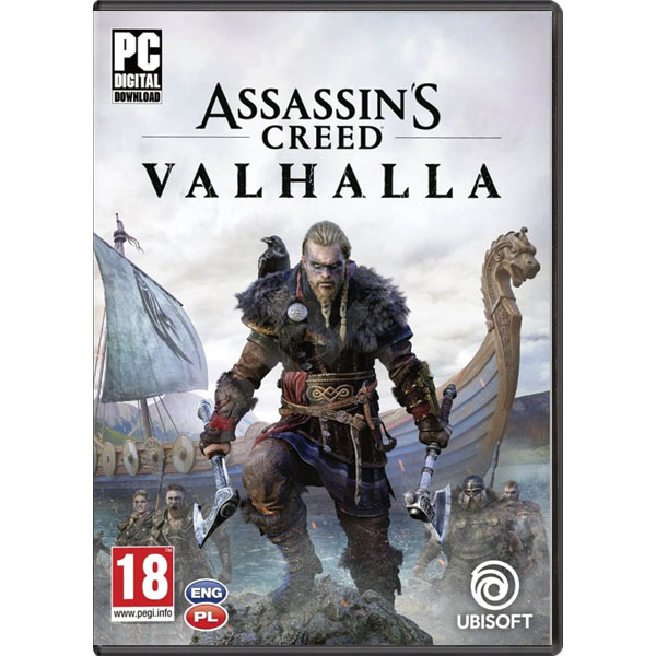 Assassin's Creed: Valhalla PC Code-in-a-Box