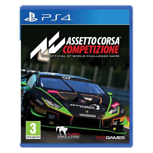 Assetto Corsa Competizione [PS4] - BAZÁR (použitý tovar)