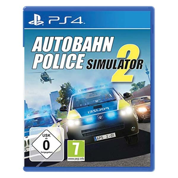 Autobahn Police Simulator 2 [PS4] - BAZÁR (použitý tovar)