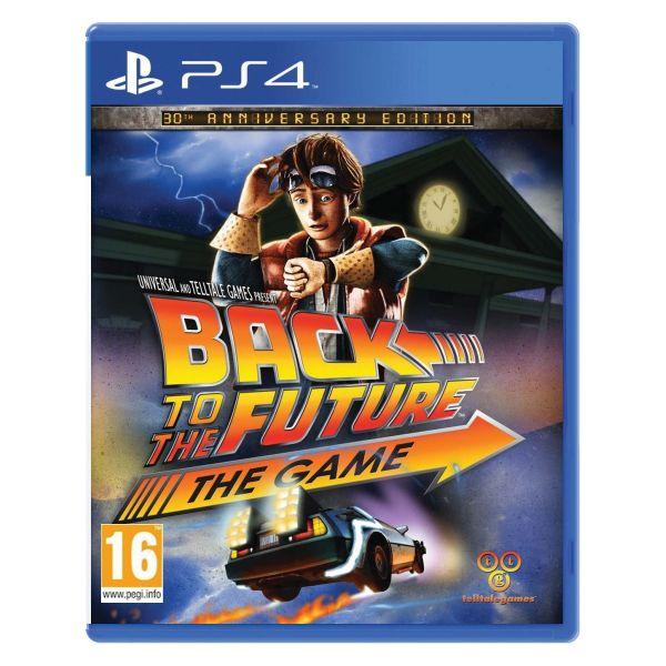 Back to the Future: The Game (30th Anniversary Edition) [PS4] - BAZÁR (použitý tovar)