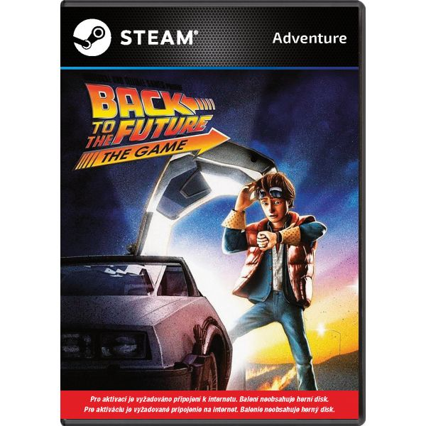 Back to the Future: The Game PC Code-in-a-Box