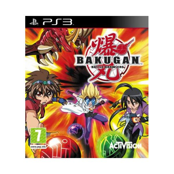 Bakugan Battle Brawlers [PS3] - BAZÁR (použitý tovar)