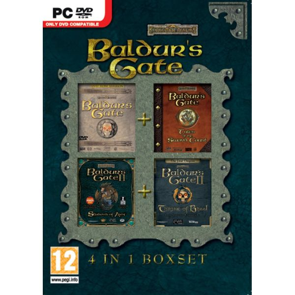 Baldur's Gate 4 in 1 Boxset