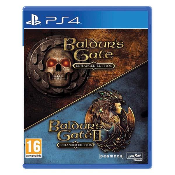 Baldurs's Gate (Enhanced Edition) + Baldurs's Gate 2 (Enhanced Edition)