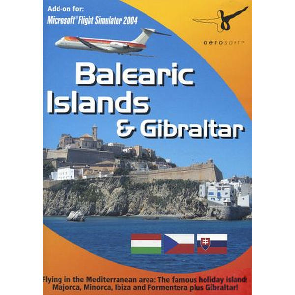 Balearic Islands & Gibraltar: Add-on for Microsoft Flight Simulator 2004