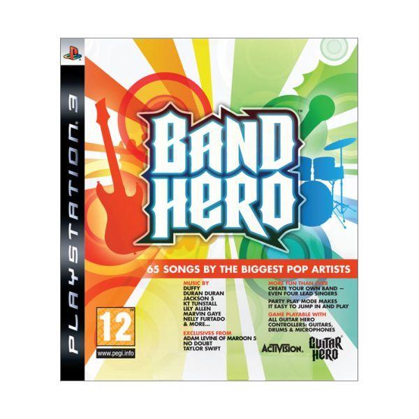 Band Hero [PS3] - BAZÁR (použitý tovar)