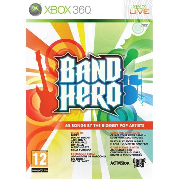 Band Hero [XBOX 360] - BAZÁR (použitý tovar)