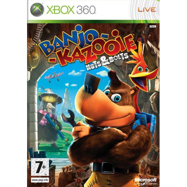 Banjo-Kazooie: Nuts & Bolts CZ XBOX 360