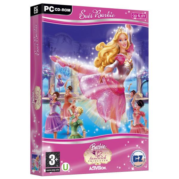 Barbie: 12 tancujúcich princezien CZ (Svet Barbie)