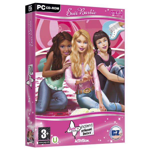 Barbie: Denníček - tajomstvo strednej školy CZ (Svet Barbie)