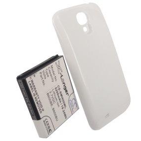 Batéria Cameron Sino pre Samsung Galaxy S4 - i9505, i9500 a i9506, (5200mAh) + náhrady kryt v bielej farbe