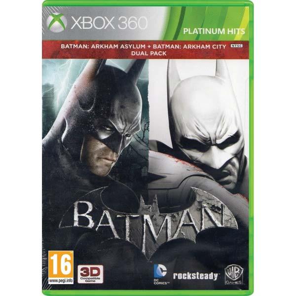 Batman: Arkham Asylum + Batman: Arkham City (Dual Pack)