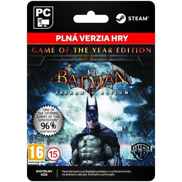Batman: Arkham Asylum (Game of the Year Edition) [Steam]