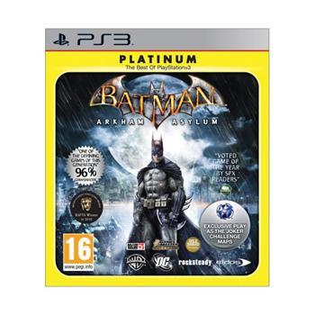 Batman: Arkham Asylum-PS3 - BAZÁR (použitý tovar)