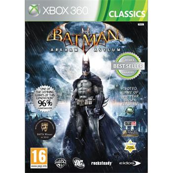 Batman: Arkham Asylum [XBOX 360] - BAZÁR (použitý tovar)
