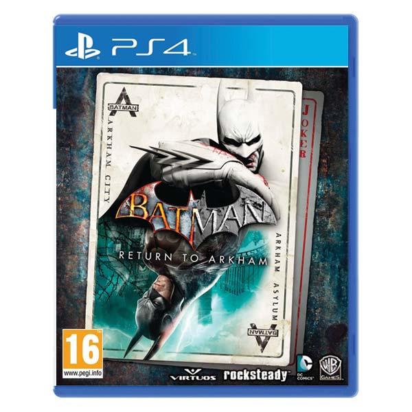 Batman: Return to Arkham [PS4] - BAZÁR (použitý tovar)