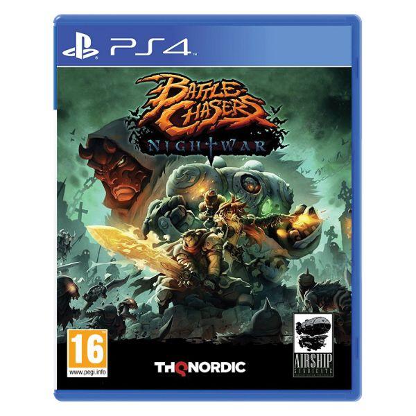 Battle Chasers: Nightwar [PS4] - BAZÁR (použitý tovar)