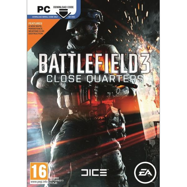 Battlefield 3: Close Quarters CZ PC Code-in-a-Box