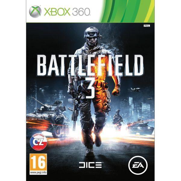 Battlefield 3 CZ XBOX 360