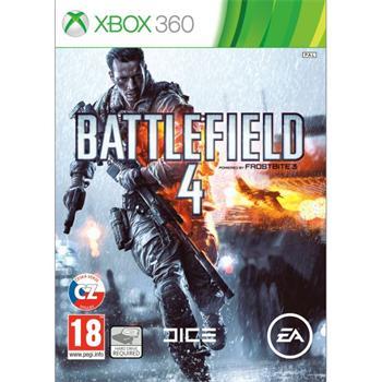 Battlefield 4 CZ - XBOX 360- BAZÁR (použitý tovar)