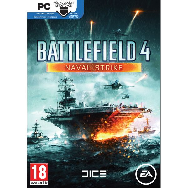 Battlefield 4: Naval Strike CZ PC Code-in-a-Box