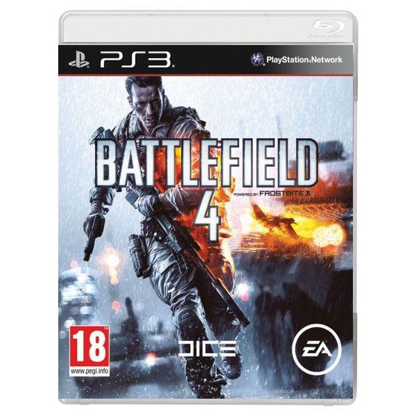 Battlefield 4-steelbook-PS3 - BAZÁR (použitý tovar)